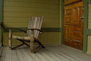 Whiskey Barrel Chair