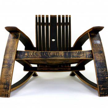 Bourbon Barrel Chair w/ Open  Top