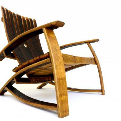 Wine Barrel Lounge Chair