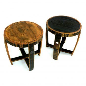 Bourbon Barrel End Table 2 B
