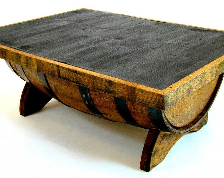 Bourbon Barrel Coffee Table - Bourbon Barrel Coffee Table By Hungarian Workshop