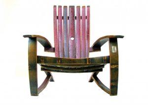 Wine Barrel Chair - San Diego Wine Barrel Furniture
