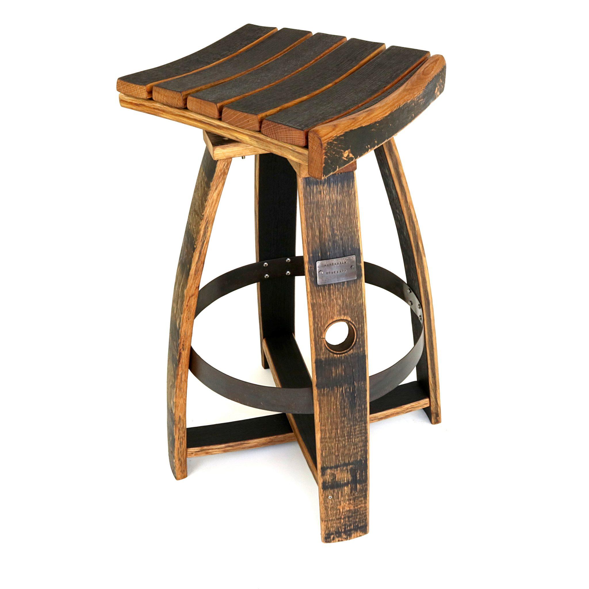 Wondrous Bourbon Barrel Pub Stool W Memory Swivel Ncnpc Chair Design For Home Ncnpcorg