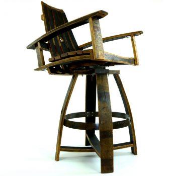 Bourbon Barrel Pub Chair B