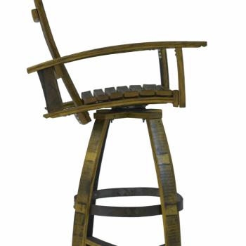 Bourbon Barrel Pub Chair