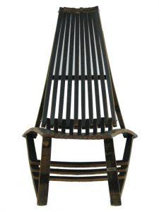 Whiskey Barrel Lounge Chair | Custom Furniture San Diego