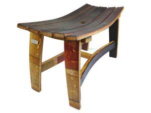 Wine Barrel Bench | Custom Furniture San Diego