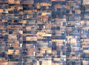 Whiskey Barrel Head Board - Recycled Whiskey Barrels – 10 Handcrafted Ideas