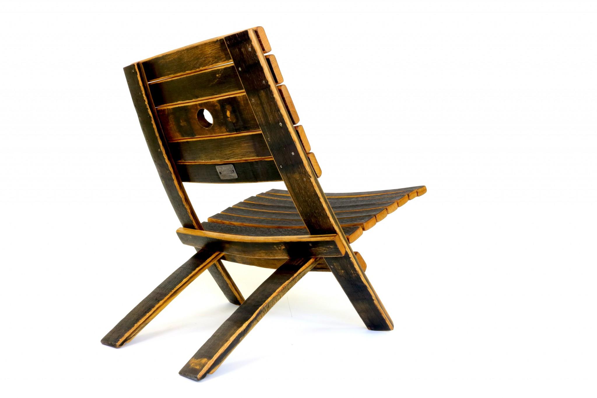 Bourbon Barrel EZ Chair
