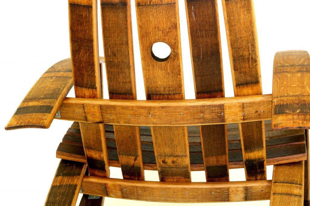 Recurved Wine Barrel Rocker Hungarian Workshop