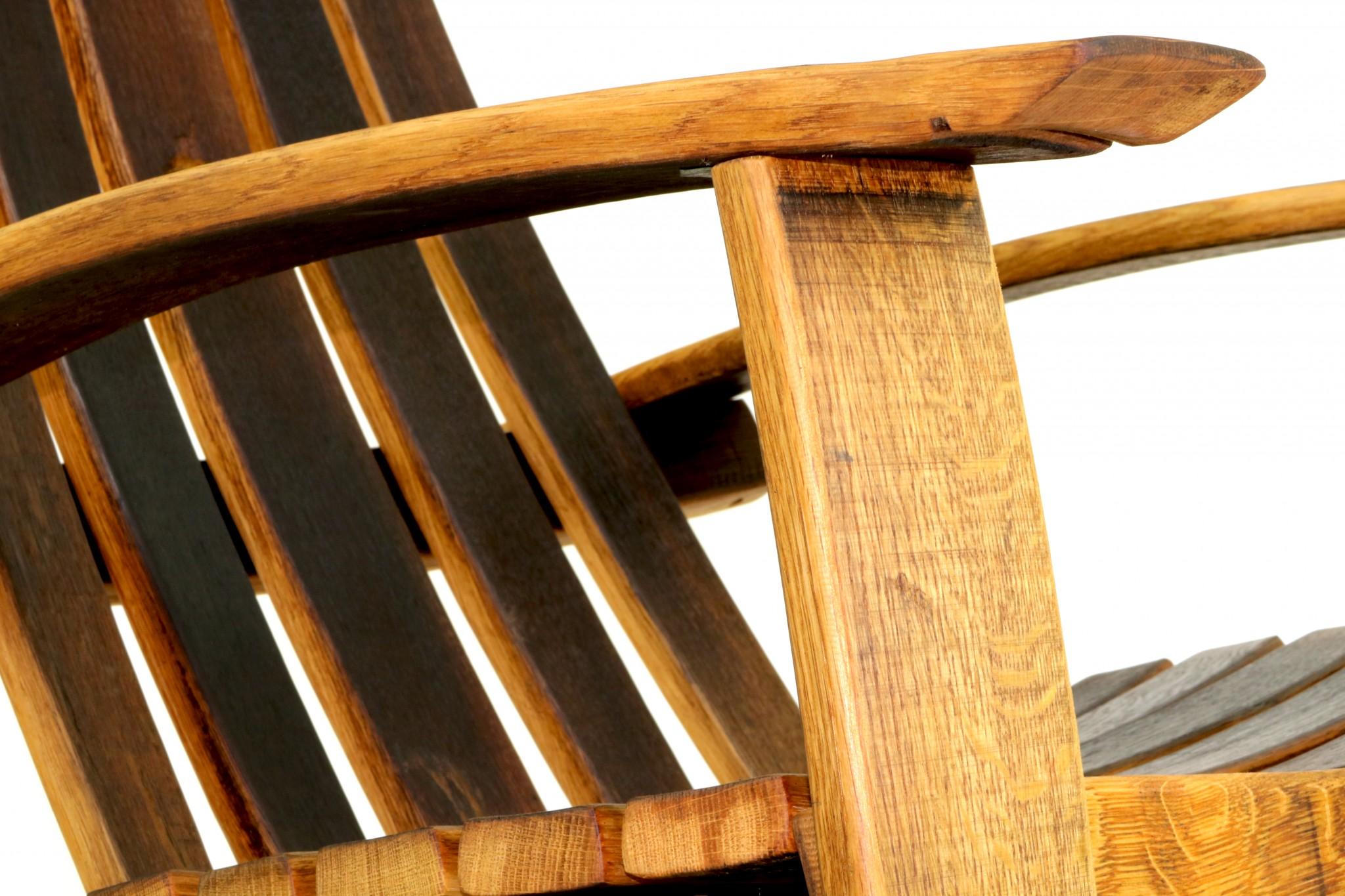 Wine Barrel Rocking Chairs