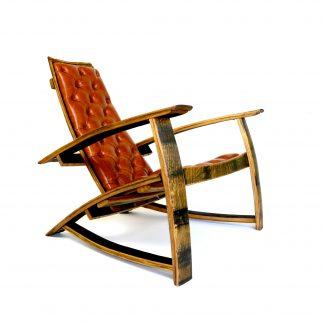 Bourbon Barrel Ez Chair Hungarian Workshop