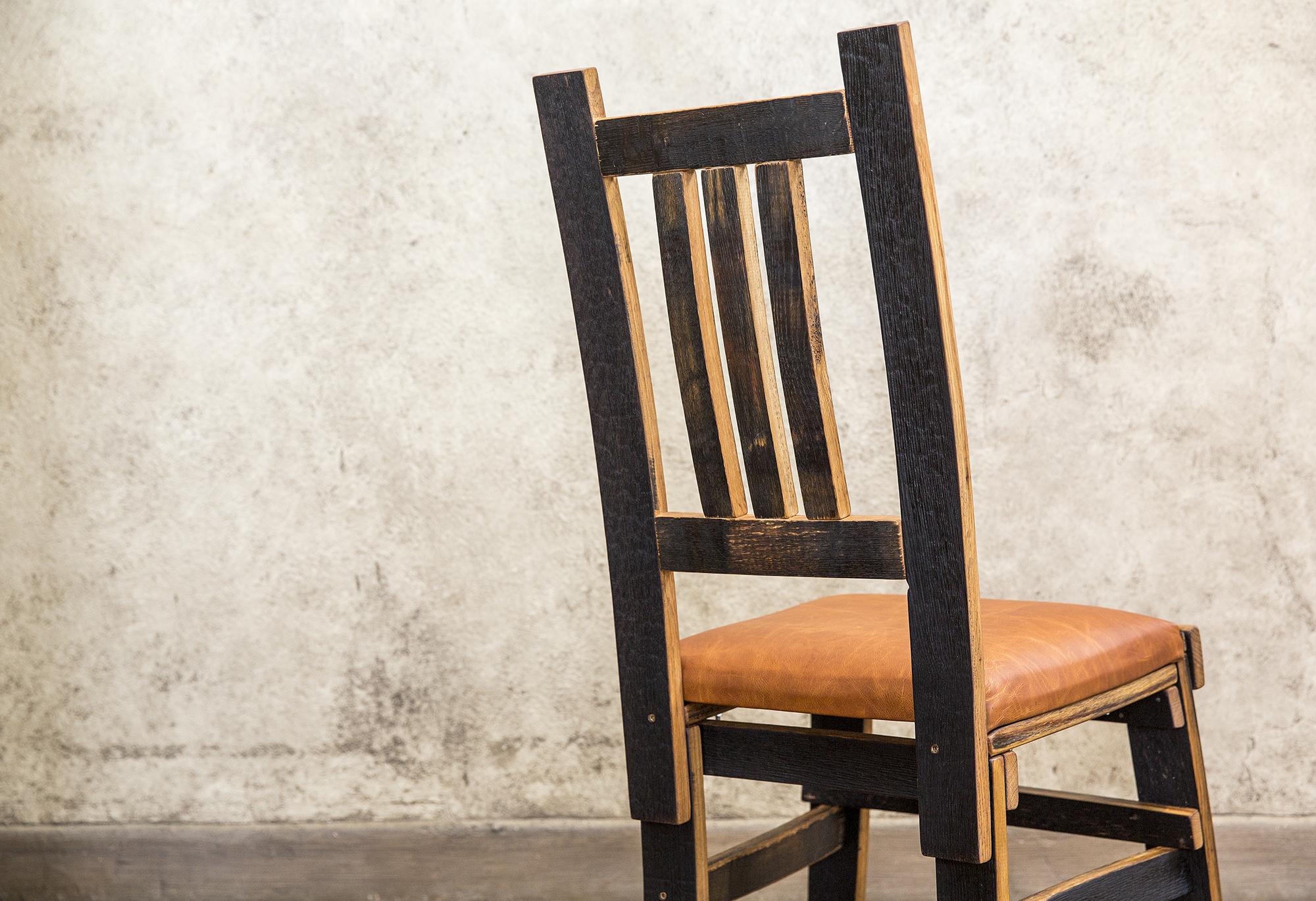 bourbon barrel dining chair hungarian workshop