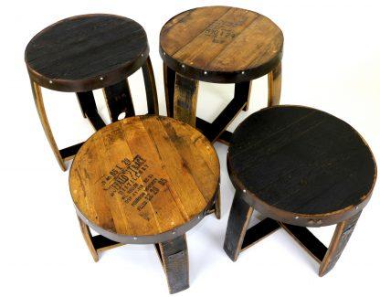 Bourbon Barrel Side Table