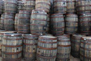 Whiskey Barrel Decor