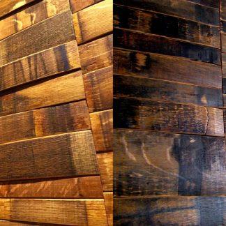 Wine & Bourbon Barrel Wall Panels