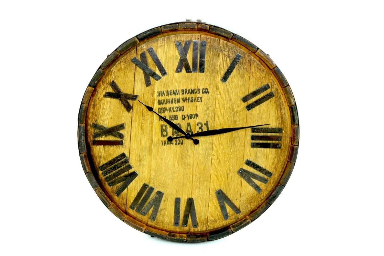 Bourbon Barrel Wall Clock - Hungarian Workshop - BUY TODAY