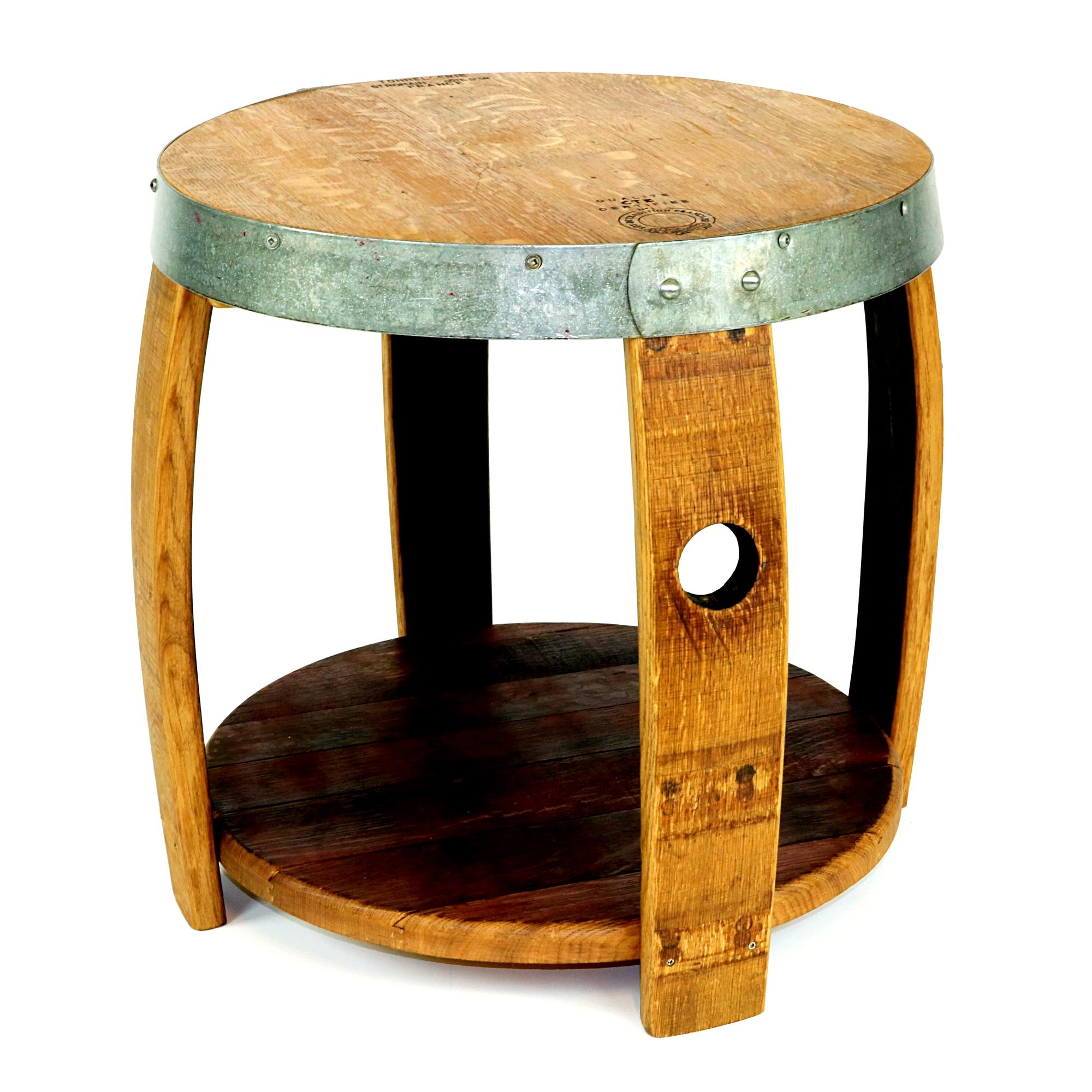 Wine Barrel Nightstand Hungarian Workshop